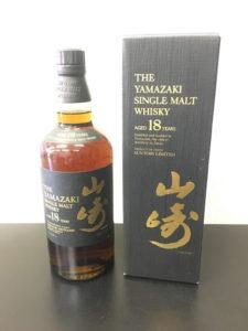 山崎18年|ウイスキー高価買取のナニウル