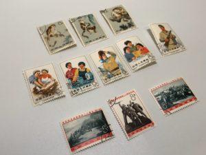 消印付き中国切手の高額買取ならナニウルにお任せ下さい!